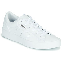 Chaussures Femme Baskets basses adidas Originals adidas SLEEK W  VEG Blanc