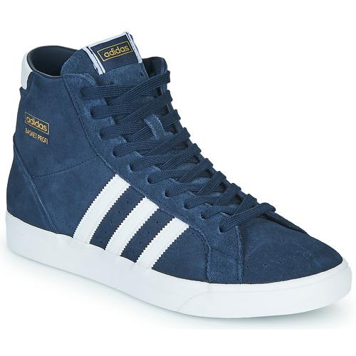 Chaussures Baskets montantes adidas Originals BASKET PROFI Bleu