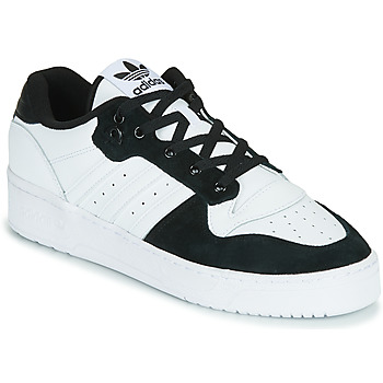Chaussures Homme Baskets basses adidas Originals RIVALRY LOW Blanc / Noir