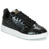 Chaussures Femme Baskets basses adidas Originals SUPERCOURT W Noir vernis