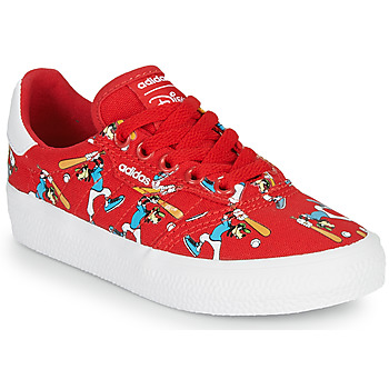 Chaussures Enfant Baskets basses adidas Originals 3MC C X DISNEY SPORT Rouge