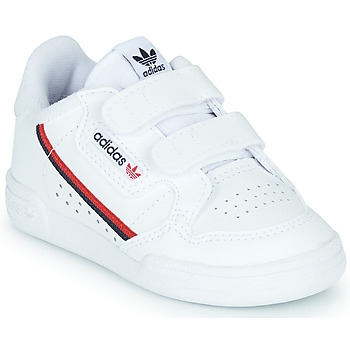 Chaussures Enfant Baskets basses adidas Originals CONTINENTAL 80 CF I Blanc
