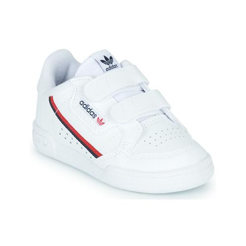 Chaussures Enfant Baskets basses adidas Originals CONTINENTAL 80 CF I Blanc