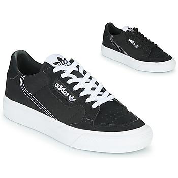 Chaussures Enfant Baskets basses adidas Originals CONTINENTAL VULC J Noir