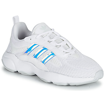 Chaussures Fille Baskets basses adidas Originals HAIWEE J Blanc / Iridescent