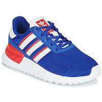 Chaussures Garçon Baskets basses adidas Originals LA TRAINER LITE C Bleu