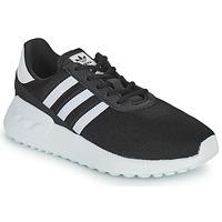Chaussures Enfant Baskets basses adidas Originals LA TRAINER LITE C Noir / Blanc