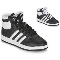Chaussures Enfant Baskets montantes adidas Originals TOP TEN J Noir / Blanc