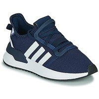 Chaussures Garçon Baskets basses adidas Originals U_PATH RUN J Marine / blanc
