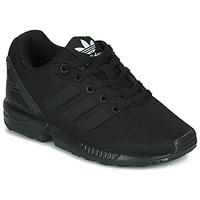 Chaussures Enfant Baskets basses adidas Originals ZX FLUX C Noir