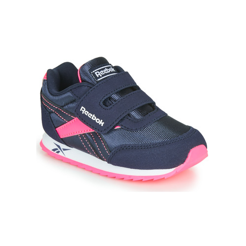 Chaussures Fille Baskets basses Reebok Classic REEBOK ROYAL CLJOG Marine / Rose