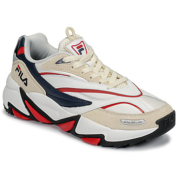 Chaussures Homme Baskets basses Fila RUSH Blanc / Beige / Rouge