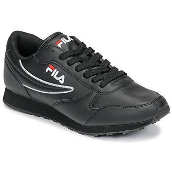 Chaussures Homme Baskets basses Fila ORBIT LOW Noir