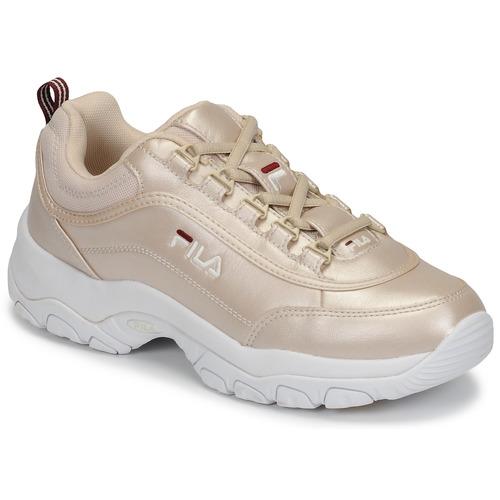 Chaussures Femme Baskets basses Fila STRADA F WMN Doré