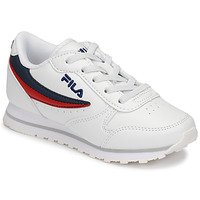 Chaussures Enfant Baskets basses Fila ORBIT LOW KIDS Blanc / Bleu