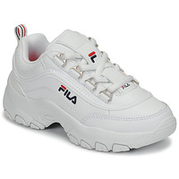 Chaussures Fille Baskets basses Fila STRADA LOW KIDS Blanc