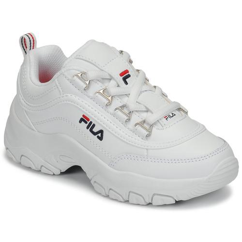 Chaussures Fille Baskets basses Fila STRADA LOW KIDS Blanc