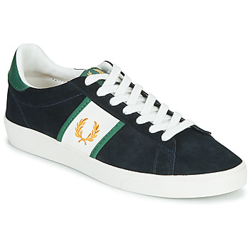 Chaussures Homme Baskets basses Fred Perry SPENCER SUEDE / TIPPING Bleu