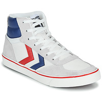 Chaussures Baskets montantes Hummel STADIL HIGH OGC 3.0 Blanc/ Bleu / Rouge
