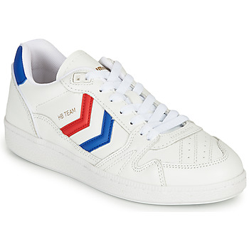 Chaussures Baskets basses Hummel HB TEAM OGC Blanc/ Bleu / Rouge