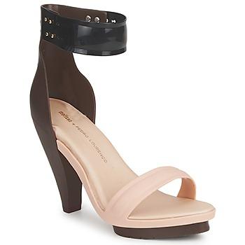 Chaussures Air max tnFemme Sandales et Nu-pieds Melissa NO 1 PEDRO LOURENCO Beige / Marron
