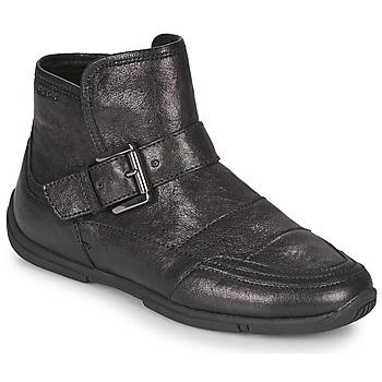 Chaussures Femme Boots Geox AGLAIA Noir