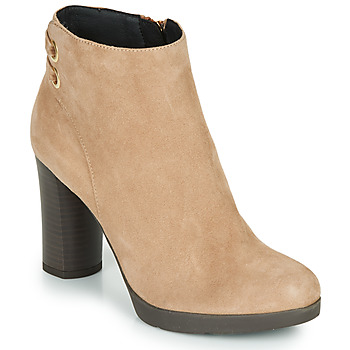 Chaussures Femme Bottines Geox ANYLLA HIGH Beige