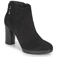 Chaussures Femme Bottines Geox ANYLLA HIGH Noir