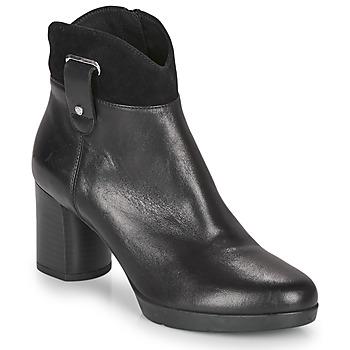 Chaussures Femme Bottines Geox ANYLLA MID Noir