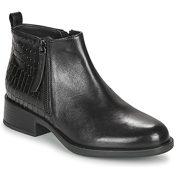 Chaussures Femme Boots Geox RESIA Noir