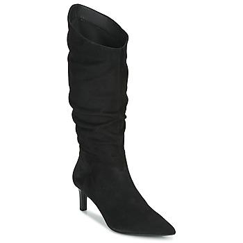 Chaussures Femme Bottes ville Geox BIBBIANA Noir