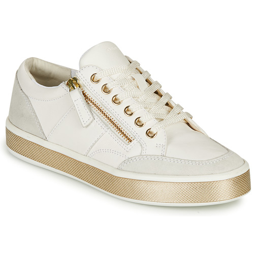 Chaussures Femme Baskets basses Geox LEELU Blanc