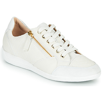 Chaussures Femme Baskets basses Geox MYRIA Blanc