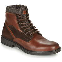 Chaussures Homme Boots Geox ALBERICK Cognac