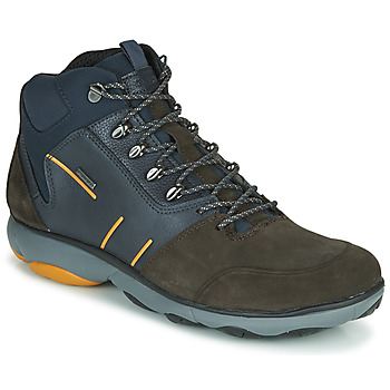 Chaussures Homme Boots Geox NEBULA 4 X 4 B ABX Marine / Marron