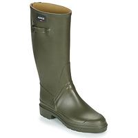 Chaussures Homme Bottes de pluie Aigle Cessac Kaki