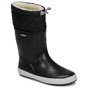 Chaussures Enfant Bottes de neige Aigle GIBOULEE Noir