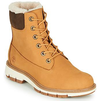 Chaussures Femme Boots Timberland LUCIA6INWARMLINEDBOOTWP Blé