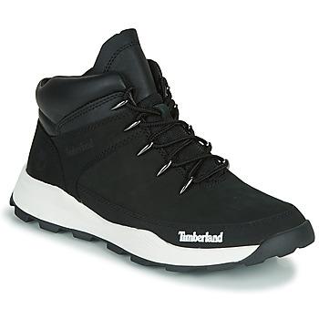 Chaussures Enfant Boots Timberland BROOKLYN EURO SPRINT TD Noir