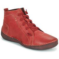 Chaussures Femme Baskets montantes Josef Seibel FERGEY 86 Rouge