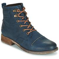 Chaussures Femme Boots Josef Seibel SIENNA 17 Marine