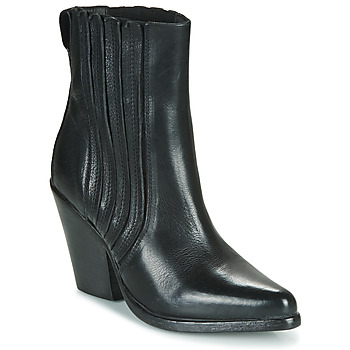 Chaussures Femme Bottines Moma CROSBY Noir