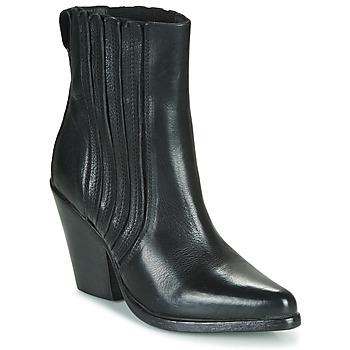 Chaussures Femme Bottines Moma CROSBY Noir