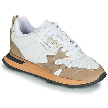 Chaussures Femme Baskets basses Moma CRAFT Blanc / Beige