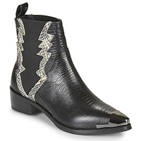 Chaussures Femme Boots Melvin & Hamilton MAY Noir