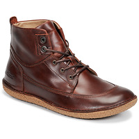 Chaussures Femme Derbies Kickers HOME Marron