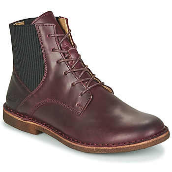 Chaussures Femme Boots Kickers TITI Bordeaux