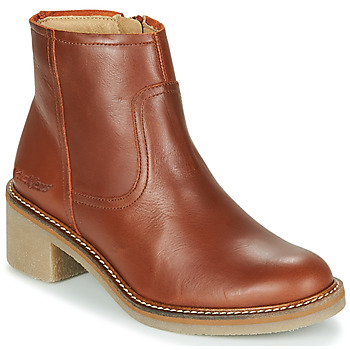Chaussures Femme Boots Kickers OXYBOOT Camel