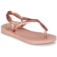 Chaussures Fille Tongs Havaianas Luna Mini Me Rose