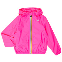 Vêtements Fille Coupes vent K-Way LE VRAI 3.0 CLAUDE KIDS Rose
